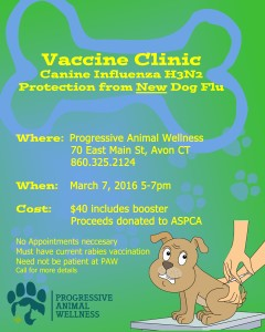Vaccine clinic H3N2 flyer ASPCA donation smaller file